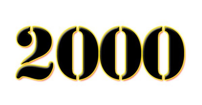 Il significato del numero 2000