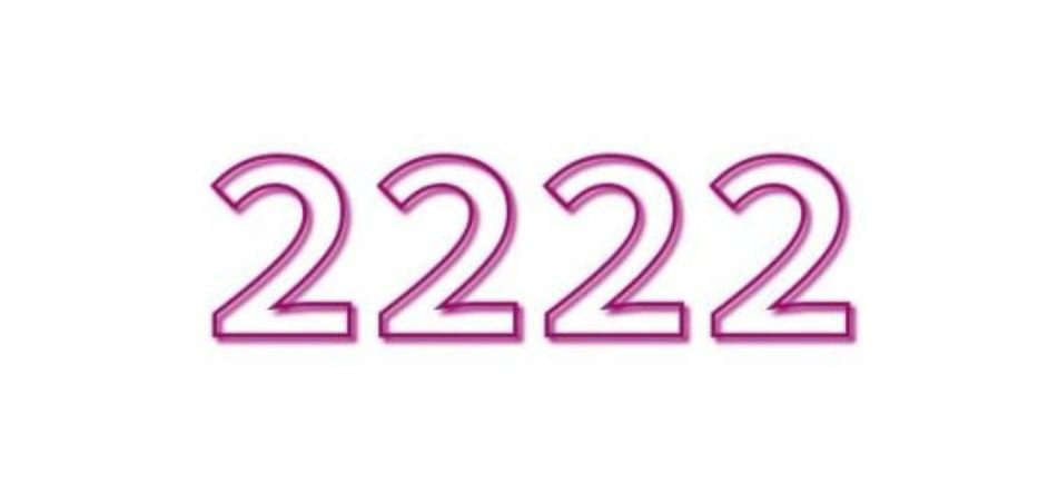 Il significato del numero 2222