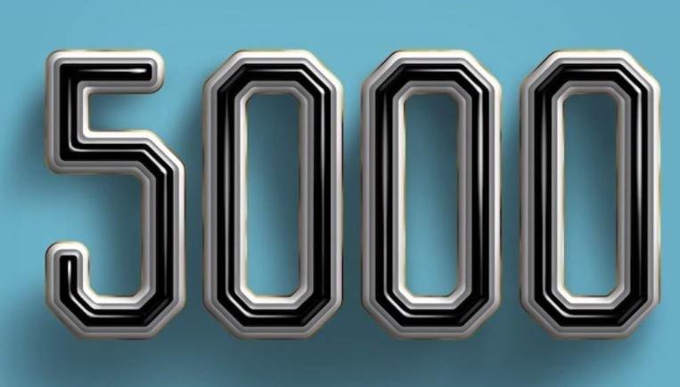 Il significato del numero 5000