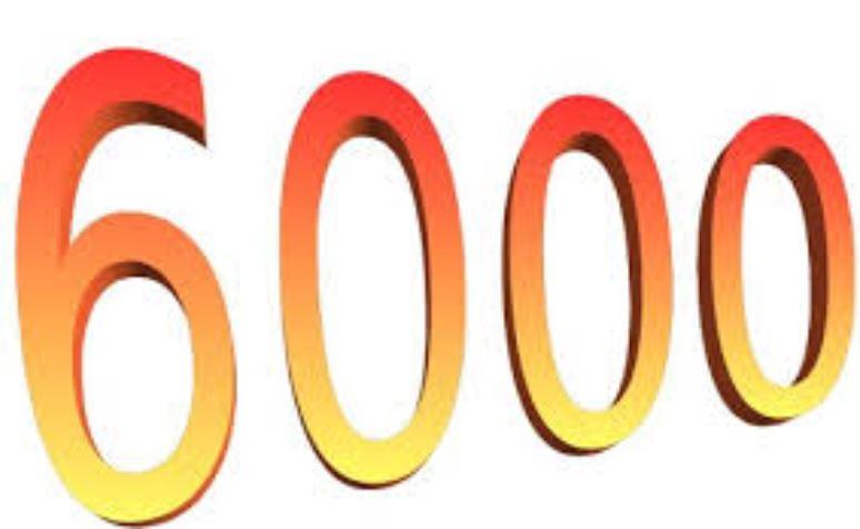 Il significato del numero 6000