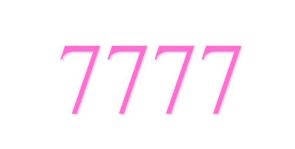 Il significato del numero 7777