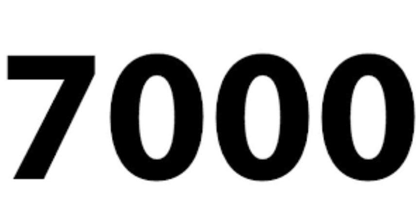 Il significato del numero 7000