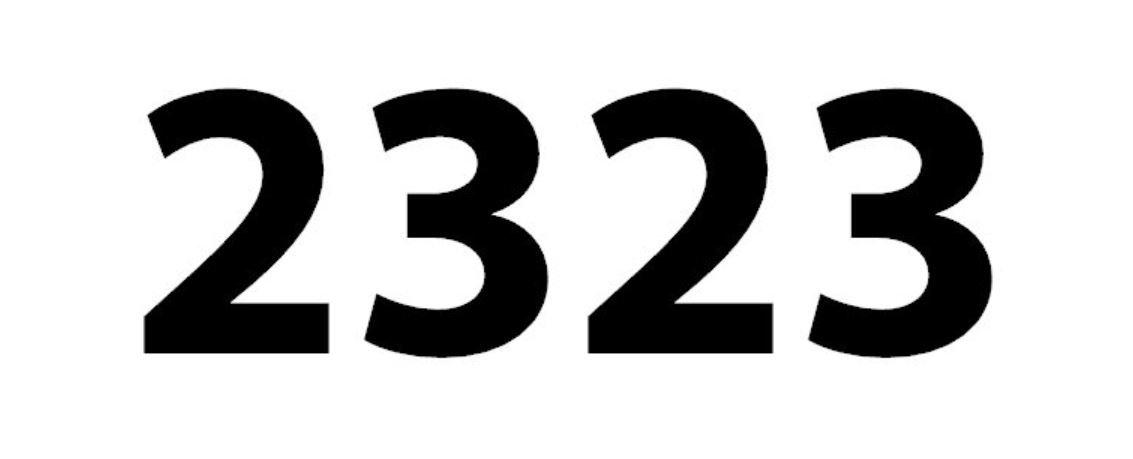 numero 2323