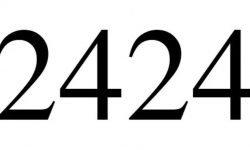 Numerologia: Il significato del numero 2424