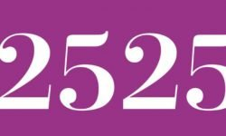 Numerologia: Il significato del numero 2525