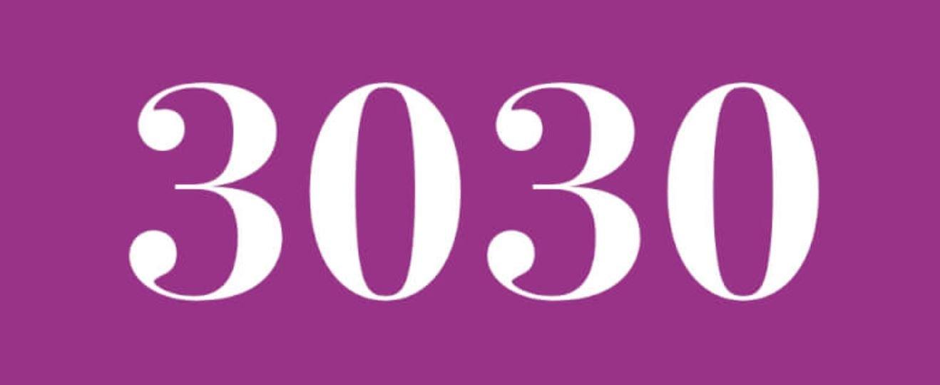 Il significato del numero 3030
