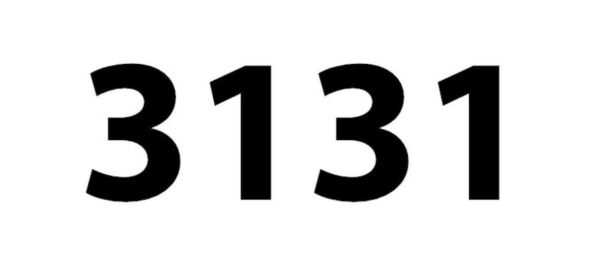 Il significato del numero 3131