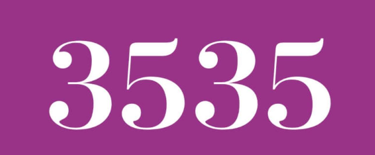 Il significato del numero 3535