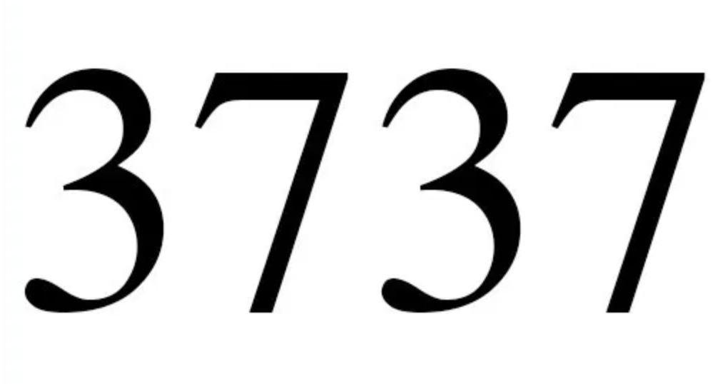 Il significato del numero 3737