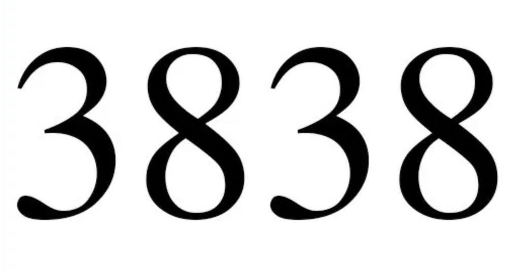 Il significato del numero 3838