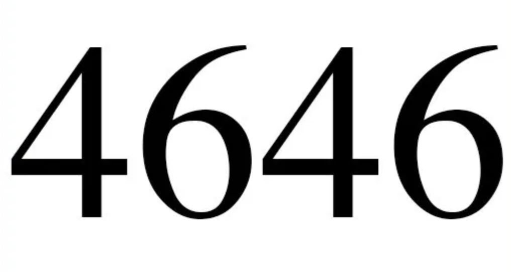 Il significato del numero 4646