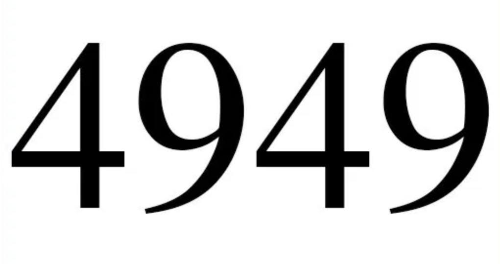Il significato del numero 4949
