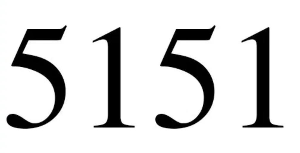 Il significato del numero 5151