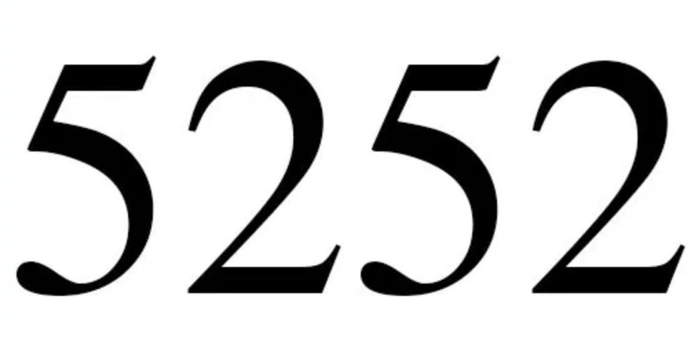 Il significato del numero 5252