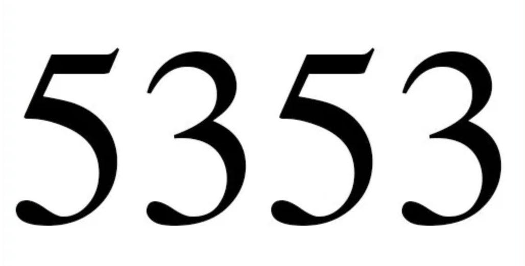 Il significato del numero 5353