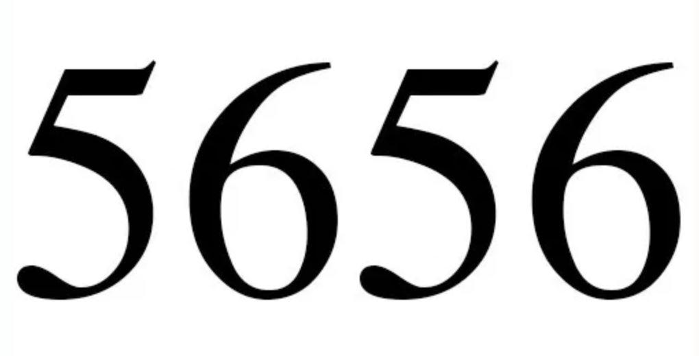 Il significato del numero 5656