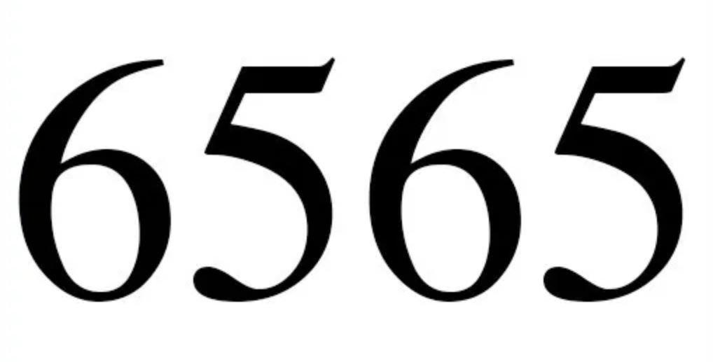 Il significato del numero 6565