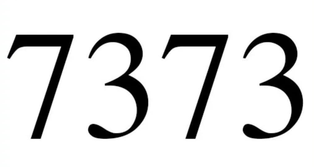 Il significato del numero 7373