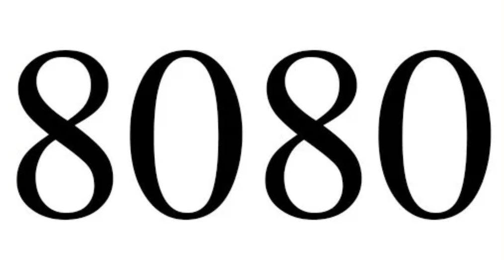 Il significato del numero 8080