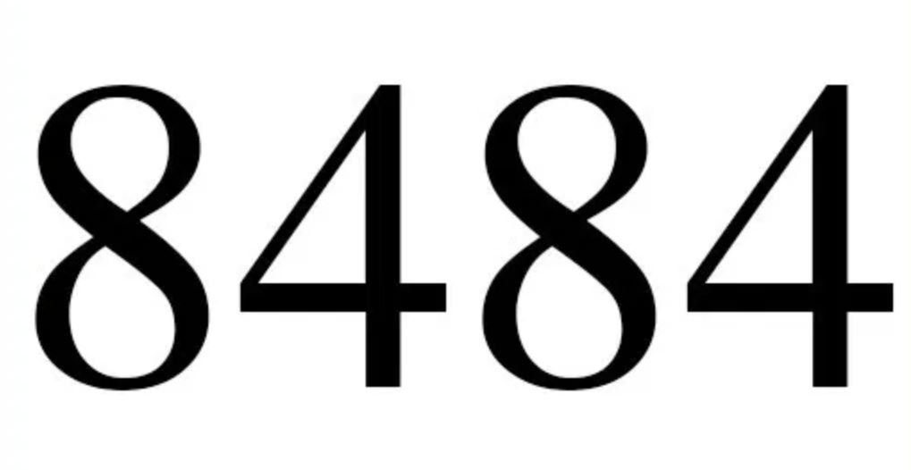 Il significato del numero 8484