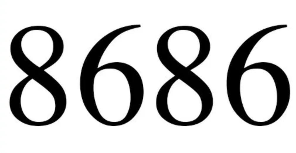 Il significato del numero 8686