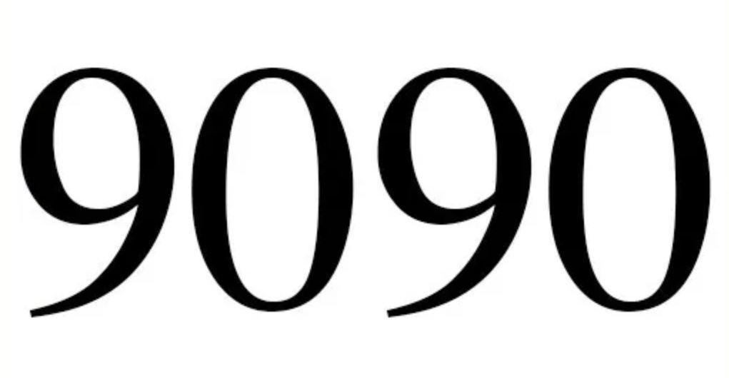 Il significato del numero 9090