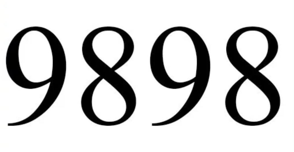 Il significato del numero 9898
