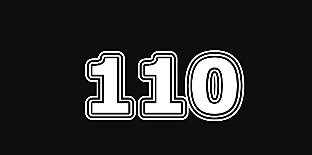 Il significato del numero 110