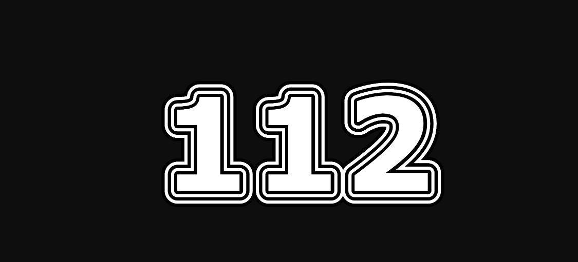 Il significato del numero 112