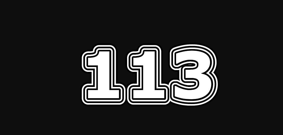 Il significato del numero 113