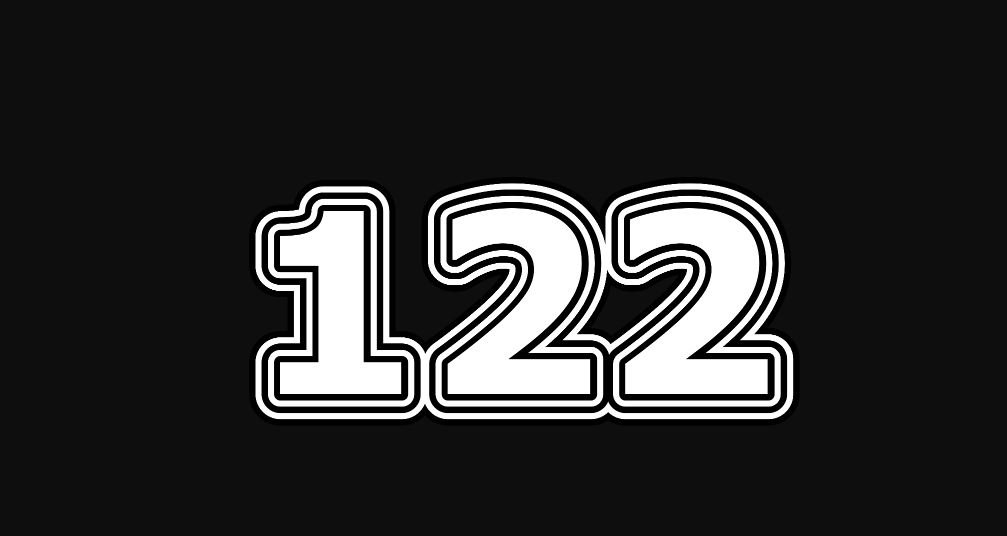 Il significato del numero 122