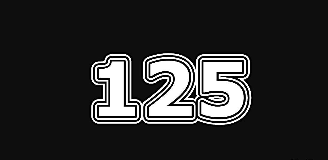 Il significato del numero 125