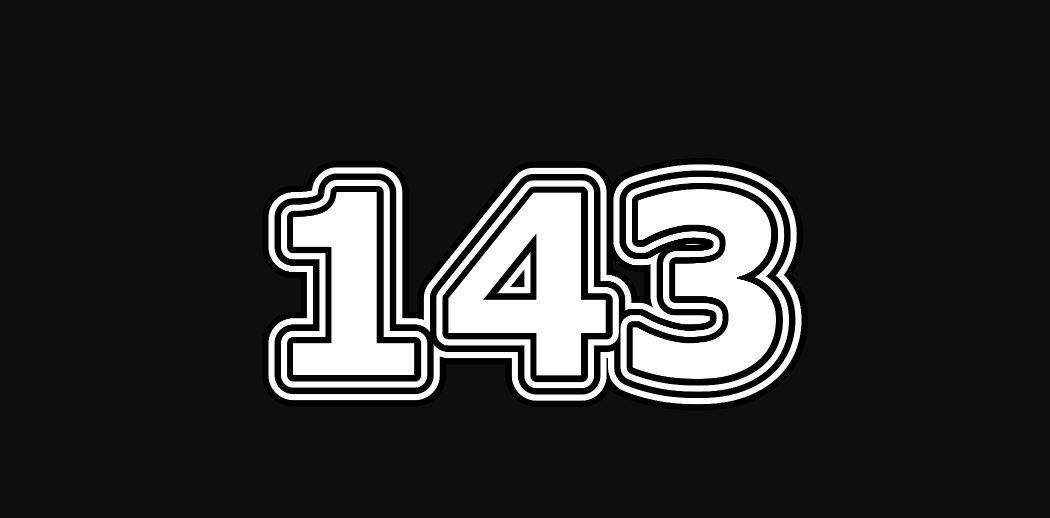 Il significato del numero 143
