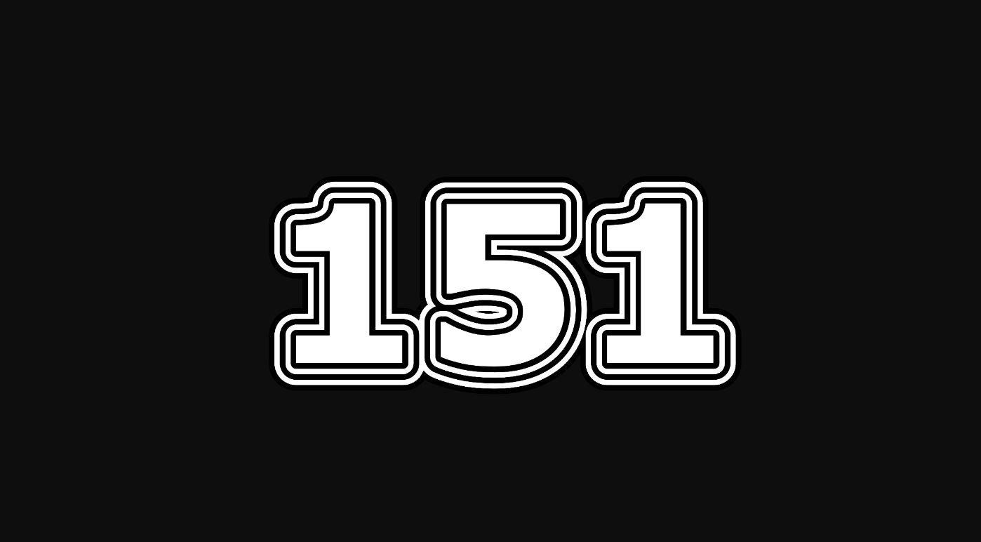 Il significato del numero 151