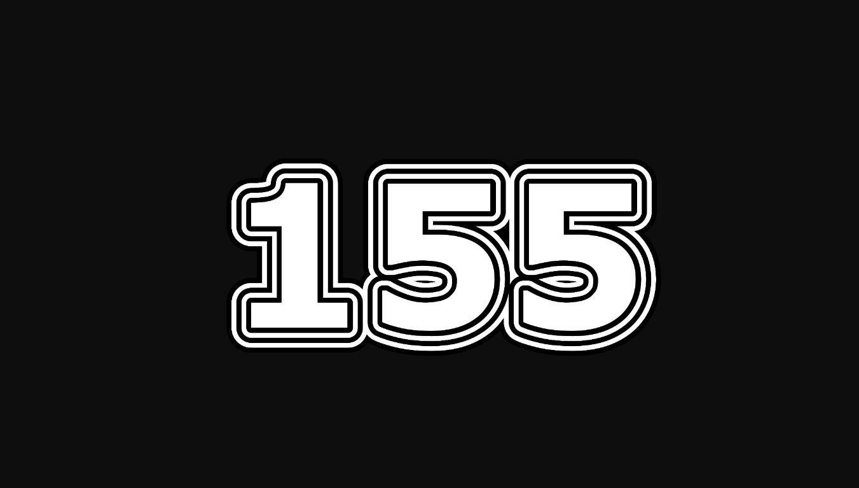 Il significato del numero 155