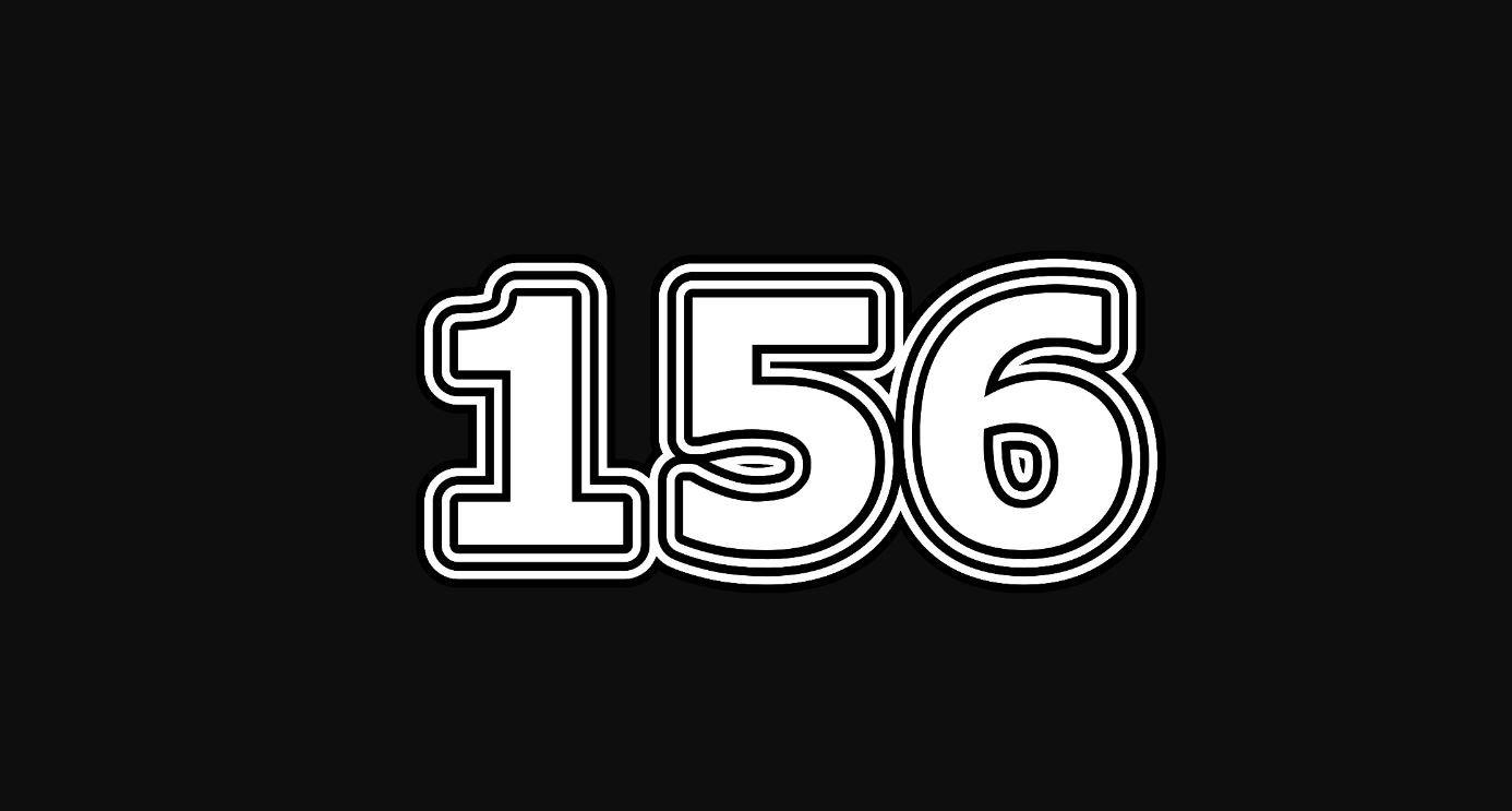 Il significato del numero 156