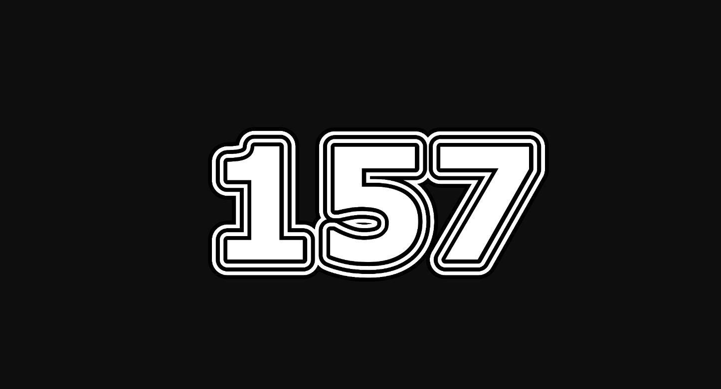 Il significato del numero 157