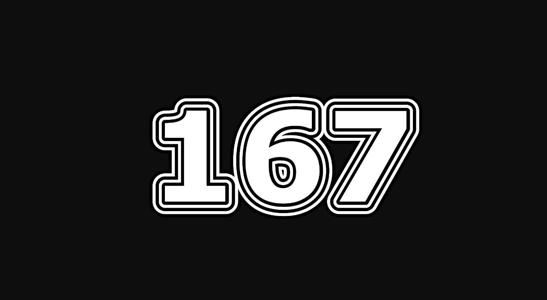 Il significato del numero 167