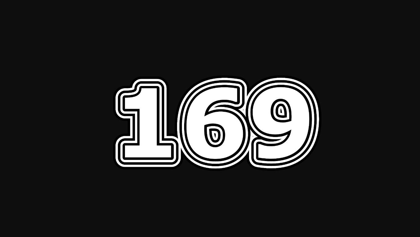 Il significato del numero 169