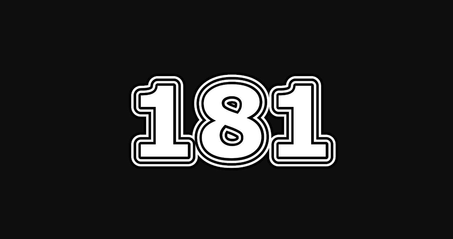 Il significato del numero 181