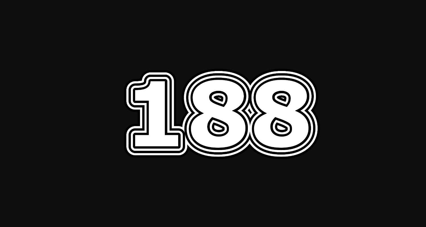 Il significato del numero 188
