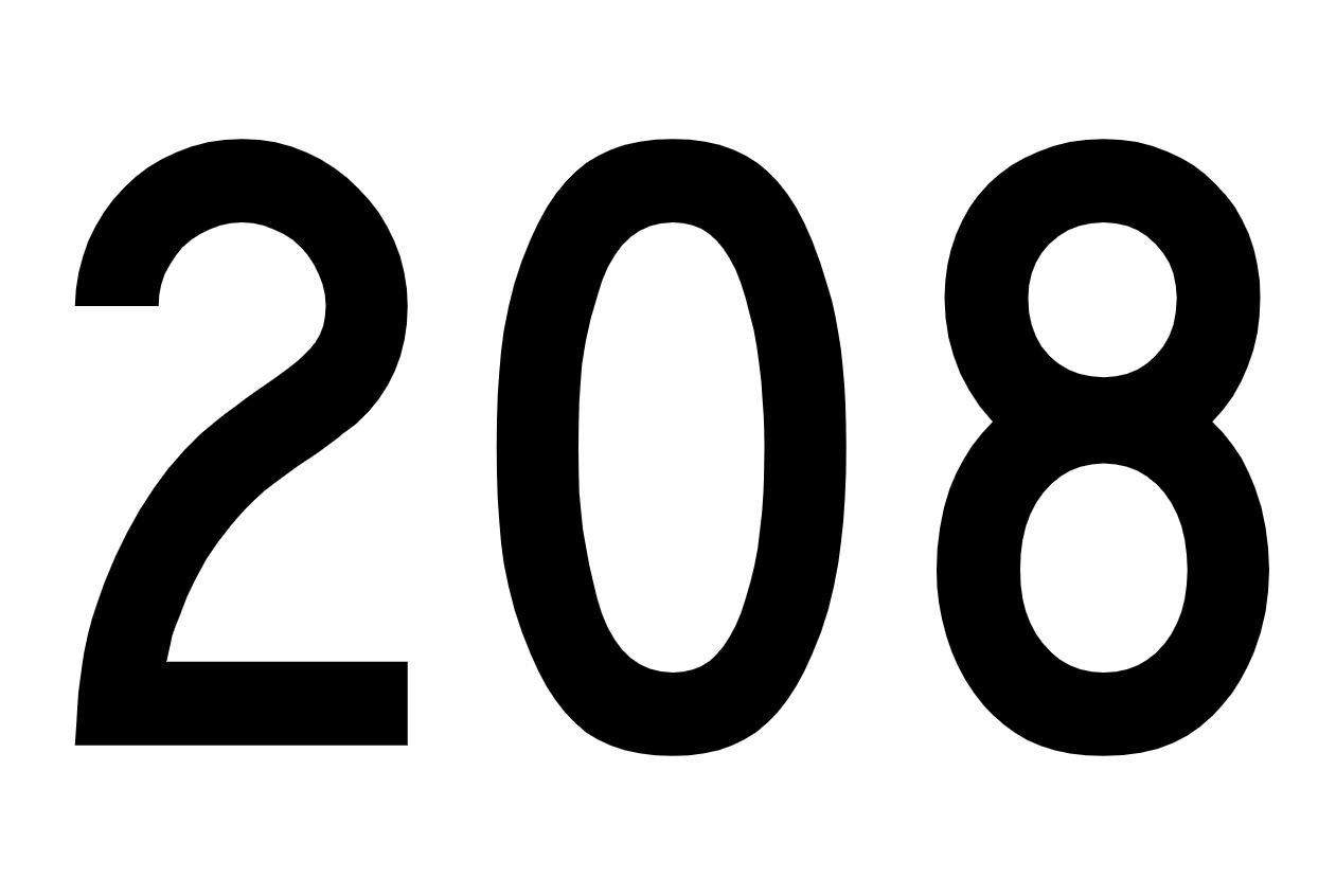 Il significato del numero 208