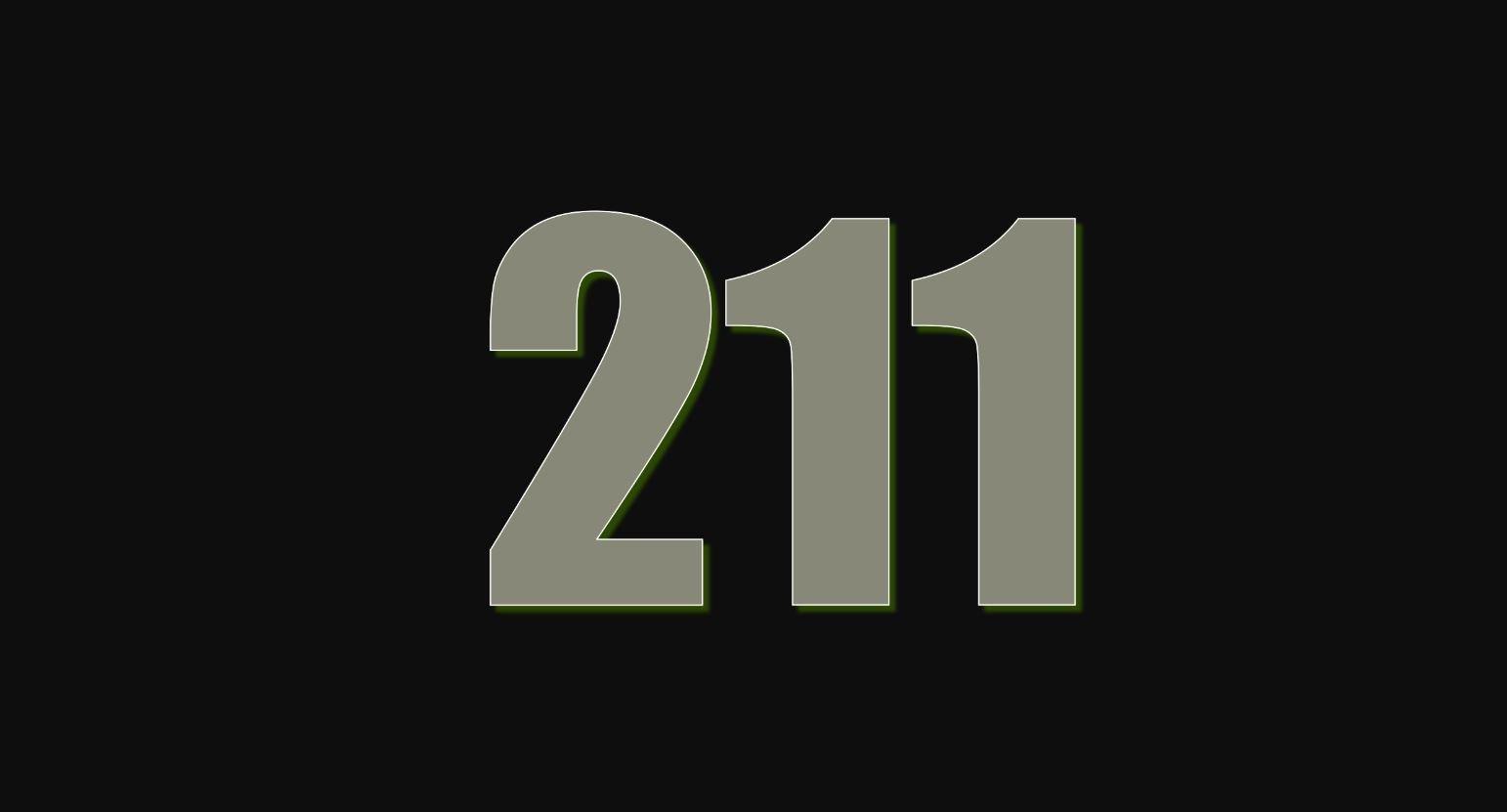Il significato del numero 211