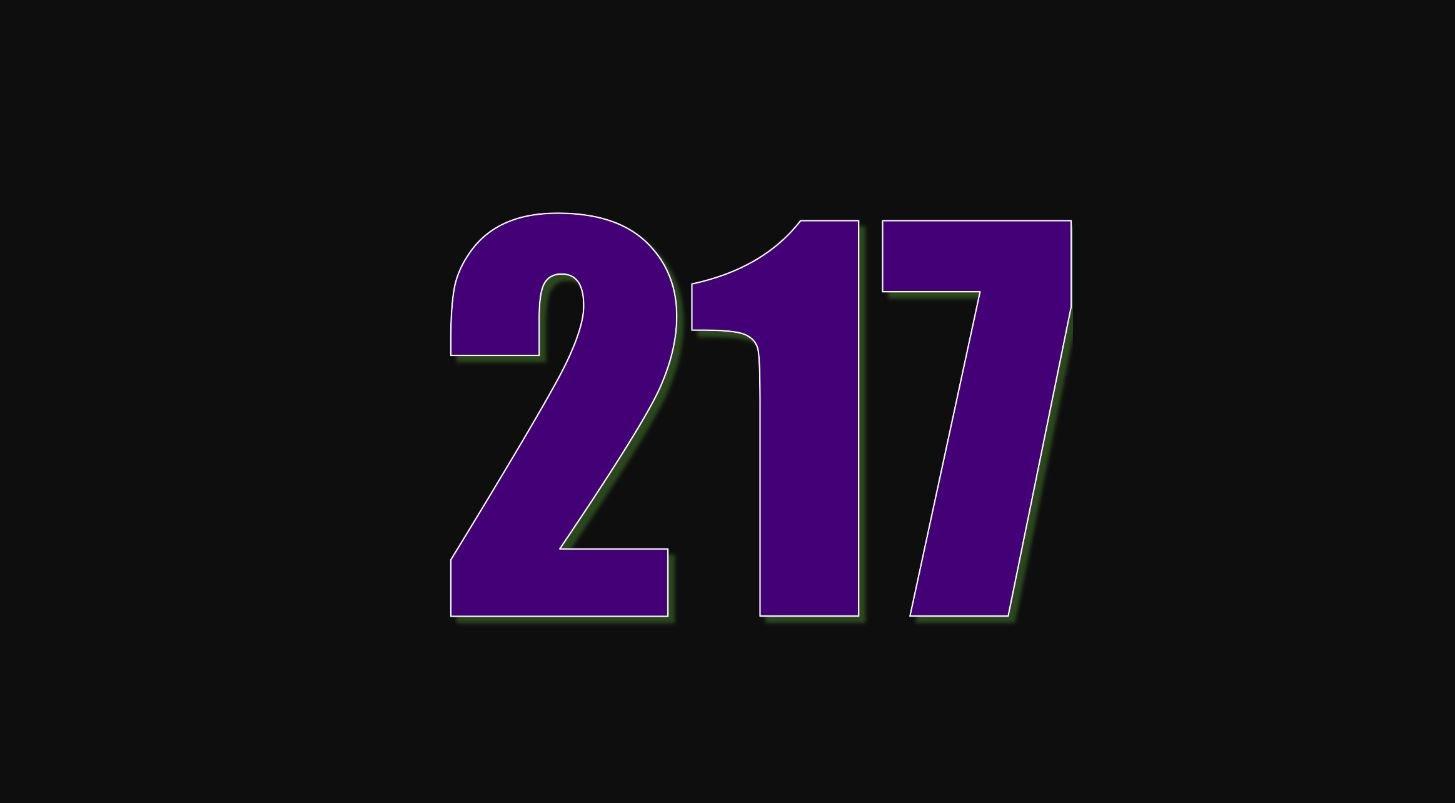 Il significato del numero 217