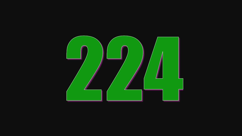 Il significato del numero 224