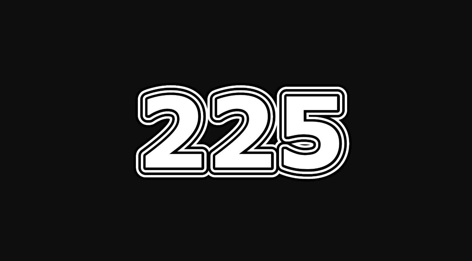 Il significato del numero 225