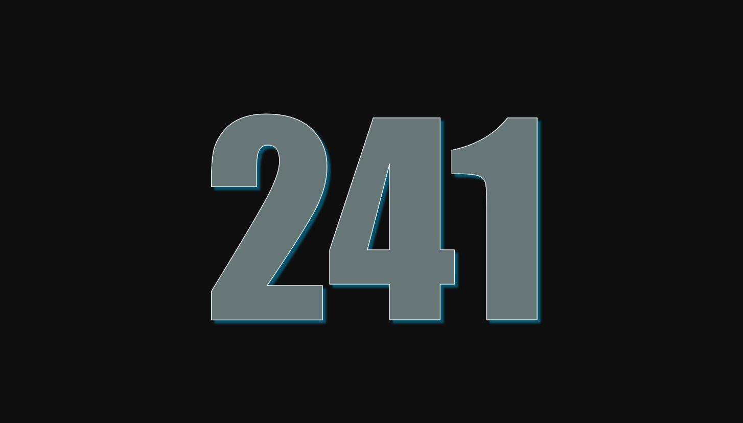 Il significato del numero 241