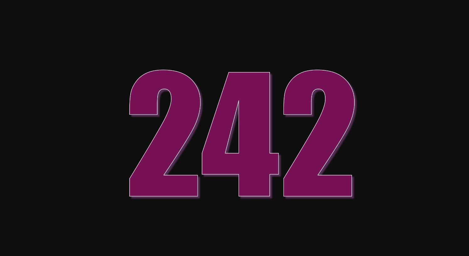 Il significato del numero 242