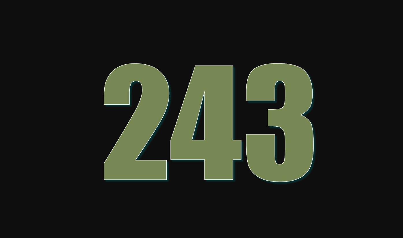 Il significato del numero 243