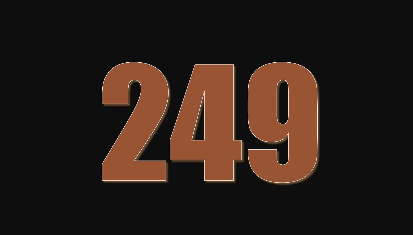 Il significato del numero 249